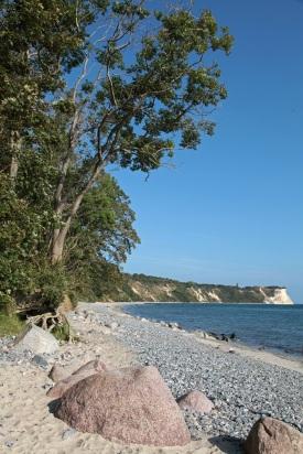 Chalk Rocks from Vitt Harbour - coastline with a view of Kap Arkona - Kreidefelsen - Rügen