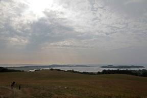 Panoramic view of the Mönchgut peninsula from the Bakenberg - Rügen
