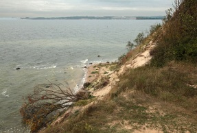 Westküste der Halbinsel Mönchgut - Cliff, overlooking the Hagensches Wiek - Rügen
