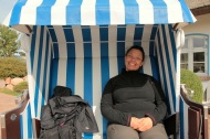 Strandkorb des Tann Hotel in Groß Zicker - Insel Rügen