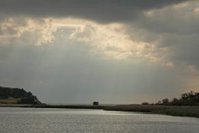 View at the Harbour of Groß Zicker - Island of Rügen