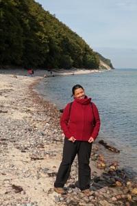 Am Strand in Sellin - Insel Rügen