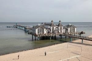 Seebrücke in Sellin auf Rügen - Pier in Sellin