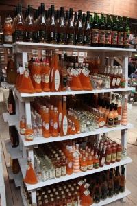 Sanddorn Products (liqueurs) in Karls Erlebnis-Dorf - Zirkow, Island of Rügen