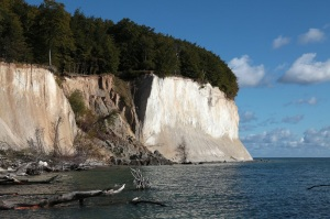 Coastal route from Sassnitz to Lohme - Landslide - Jasmund National Park - Island of Rügen