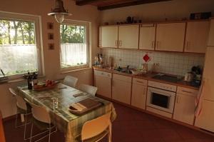 Küche unseres Ferienhauses auf Rügen - Mölln 2