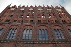 Stralsunder Rathaus (13. Jahrhundert)
