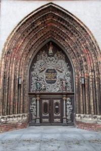 Stralsund - Westportal der Nikolaikirche