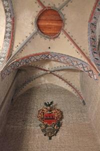 Stralsunder Nikolaikirche (St. Nicholas Church) - Ausgemaltes Kreuzrippengewölbe