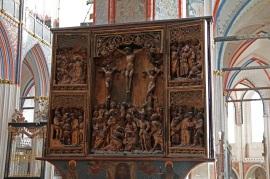 Stralsunder Nikolaikirche (St. Nicholas Church) - Bergenfahreraltar