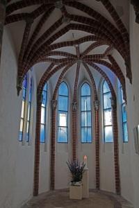 Stralsunder Nikolaikirche (St. Nicholas Church) - Schreiterfenster (Schreiter windows)