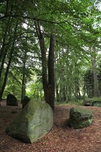 """""""Ziegensteine"""" - Neolithisches Megalithgrab bei Lancken-Granitz - Insel Rügen"""