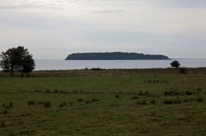 Stresow Bay with the island of Vilm - Island of Rügen