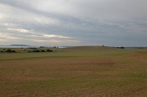 Blick vom Teschenberg auf die Stresower Bucht - Insel Rügen