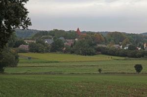Blick auf Lancken-Granitz - Insel Rügen