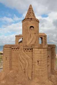 Sandcastle in Binz - Island of Rügen