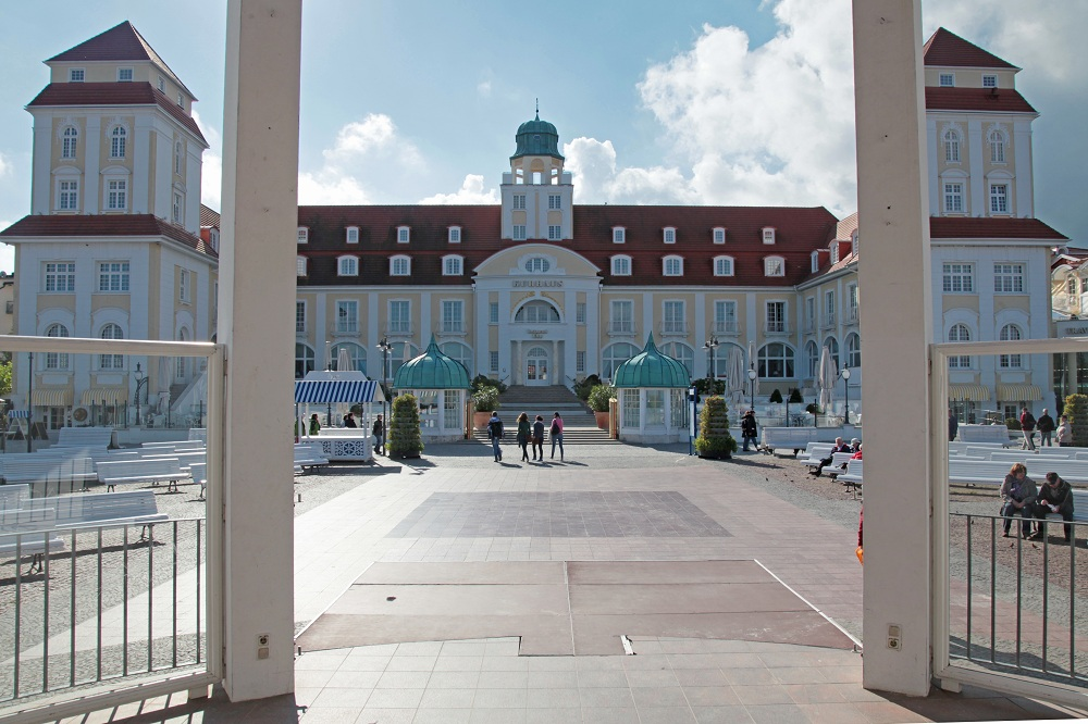 Kurhaus (Hotel) im Seebad Binz - Insel Rügen