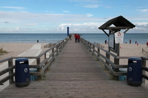 Pier in Prerow - Peninsula Darss