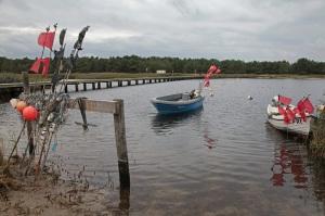Ostseehalbinsel Darß - Hafen am Ottosee