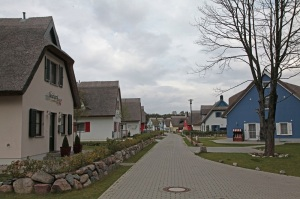Holiday complex/resort in Juliusruh, with the typical thatched roof houses