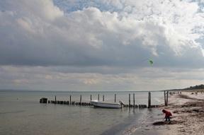 Schaabe - Beach facing Glowe - Rügen