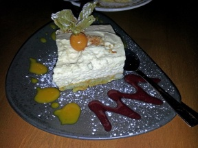 Restaurant Savanna: Amarula Cremetorte