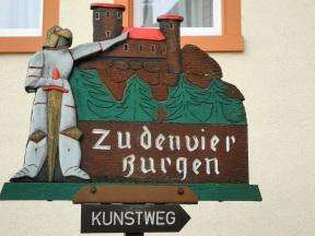 Schild in Neckarsteinach