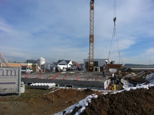 Construction - Cellar: March 2013