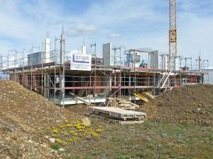 Construction - First Floor: April 2013
