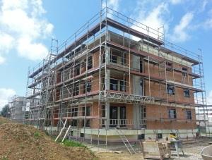 Construction - Second Floor, windows are in: June 2013
