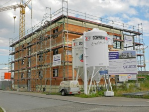 Construction - Second Floor, August 2013