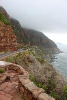 Der Chapman's Peak Drive ist eine neun Kilometer lange Küstenstraße auf der Kap-Halbinsel südlich von Kapstadt, South Africa
