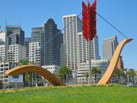 San Francisco Cupid Span, Rincon Park