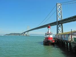San Francisco, Oakland Bay Bridge, Yerba Buena Island