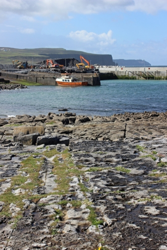 Doolin Harbour, County Clare, Ireland