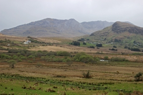 Mountains in County Sligo on our way to Enniscrone, Ireland