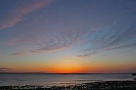 Sunset at Enniscrone Beach, County Sligo, Ireland