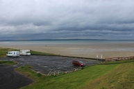 Sandy beach in Enniscrone, County Sligo, Ireland