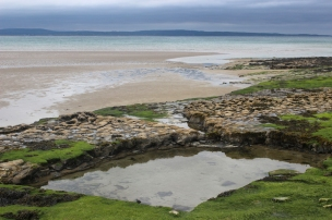 Beach at Enniscrone, County Sligo, Ireland