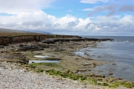 Coastline close to Downpatrick Head, County Mayo, Ireland