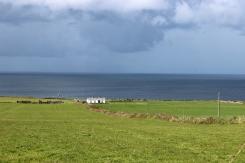 Coastline close to Downpatrick Head in Mayo, County Ireland