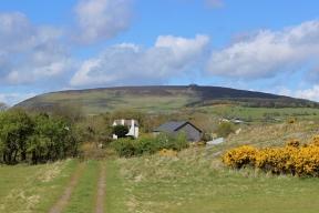 Mountain of Knocknarea from Carrowmore Megalithic Cemetry, County Sligo, Ireland