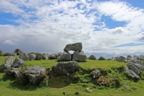 Circle 7 at Carrowmore Megalithic Cemetry, County Sligo, Ireland