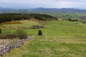 View from the path to Knocknarea Mountain, County Sligo, Ireland