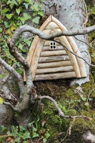 Fairy House, Fairy Land in Swan Park, Buncrana, County Donegal, Ireland