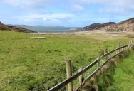 Lough Swilly from the road towards Fort Dunree, County Donegal, Ireland