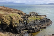 At Fort Dunree, County Donegal, Ireland