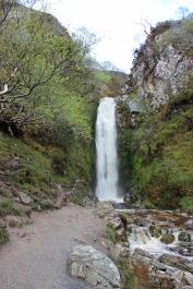 Glenevin Waterfall in Clonmany, County Donegal, Ireland