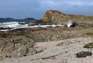 Malin Head (Irish: Cionn Mhálanna) on the Inishowen Peninsula, County Donegal, Ireland