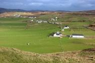 View from Malin Head (Irish: Cionn Mhálanna) on the Inishowen Peninsula, County Donegal, Ireland